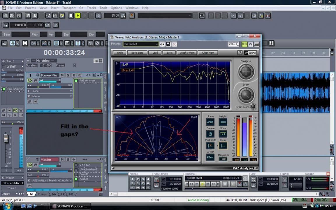 mastering studio